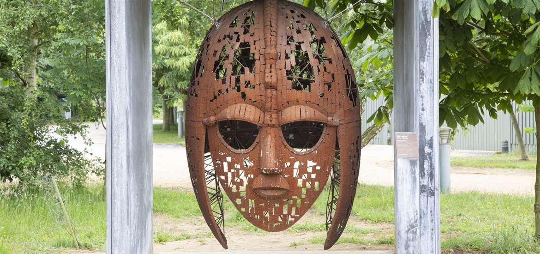 TTDA - Sutton Hoo - Helmet Sculpture