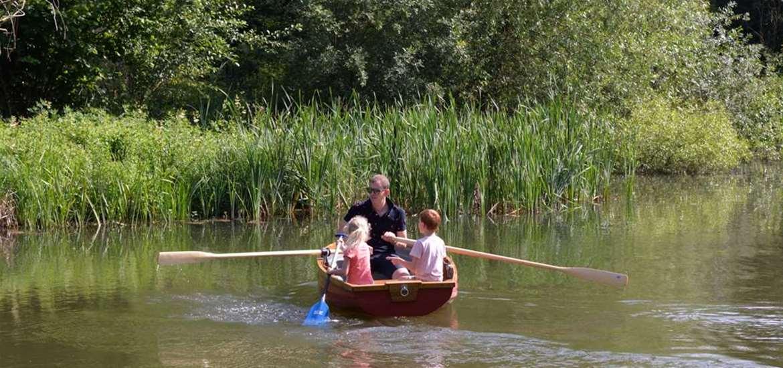 TTD - Kingfishers - Boating Lake