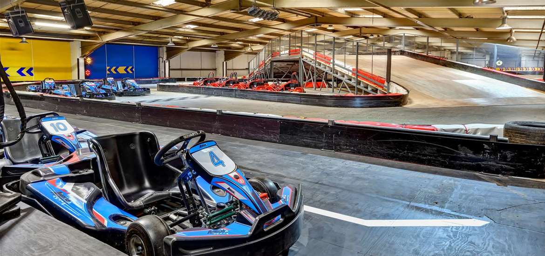 TTDA - Anglia Indoor Karting - Upstairs track
