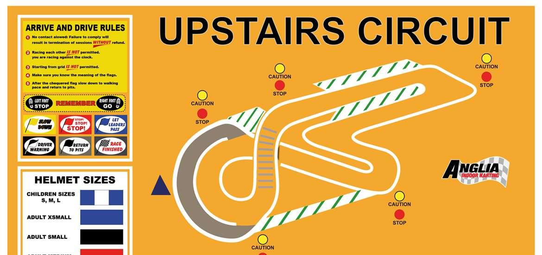 TTDA - Anglia Indoor Karting - Upstairs circuit