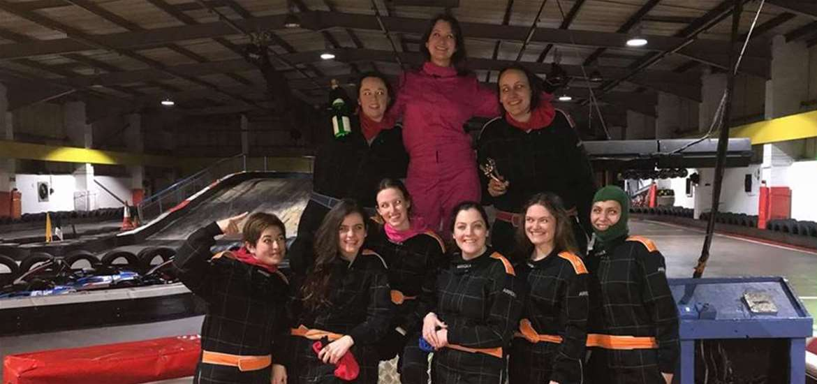 Weddings - Anglia Indoor Karts - Hen party