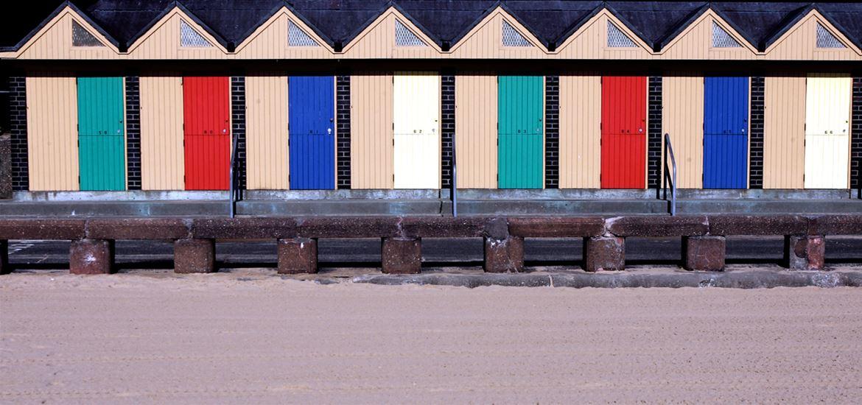 Lowestoft Beach Huts