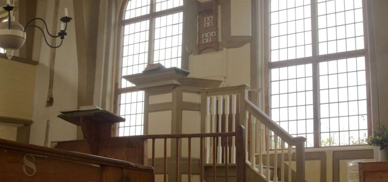 TTDA - Walpole Old Chapel - Pulpit