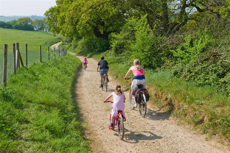 Towns & Villages - cycling -  (c)Tony Pick