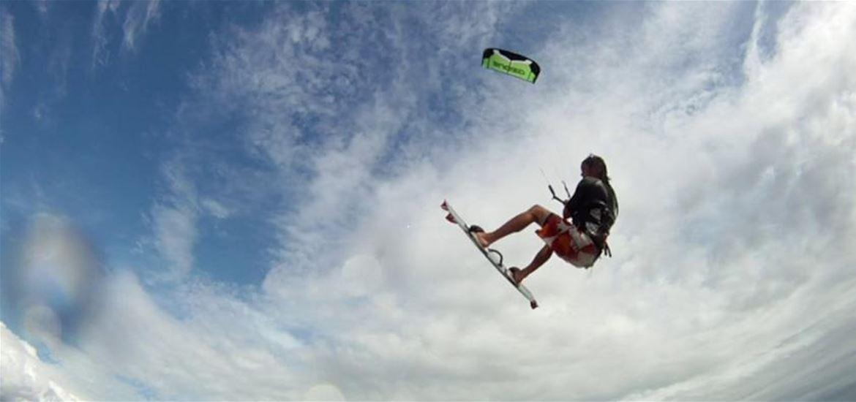 Kite Surfing on The Suffolk Coast