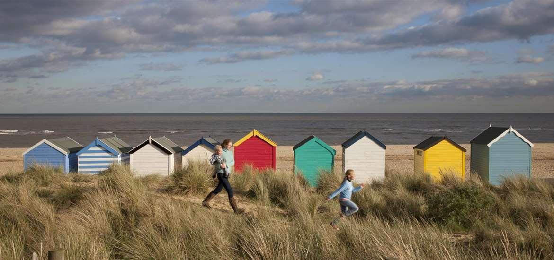 TTDA - Southwold Beach - Denes and beach huts