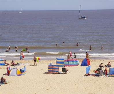 Lowestoft Beach - Suffolk Coast