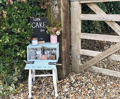 TTDA - Shotley Peninsula - cake box