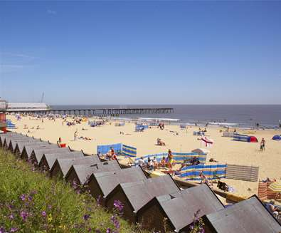Lowestoft Beach is Restored and ready for the Season!
