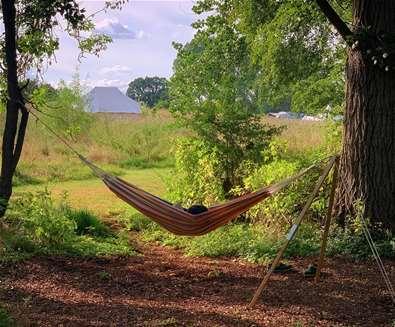 WTS - Wardley Hill Campsite - Hammock
