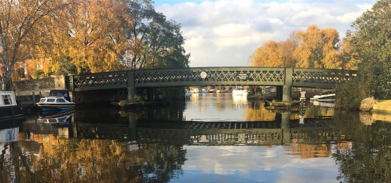 TTDA Hippersons Boatyard Beccles old bridge
