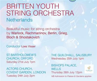 Britten Youth String Orchestra..