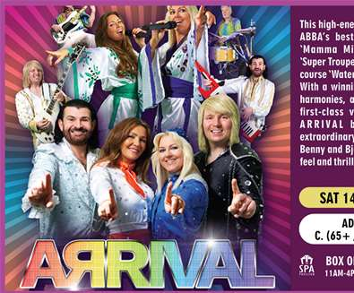 Abba Arrival at Spa Pavilion Theatre