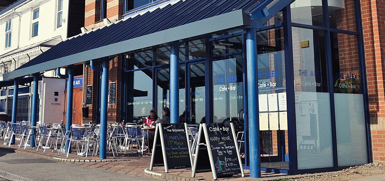 The Alex Cafe Bar & Brasserie - Exterior