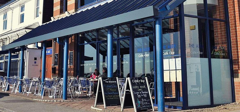 FD - The Alex Cafe Bar & Brasserie - Exterior