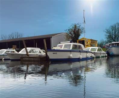 TTDA - Hippersons Boatyard - Boats moored