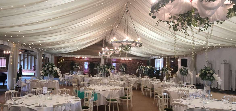 Weddings - Wantisden Park - Marquee