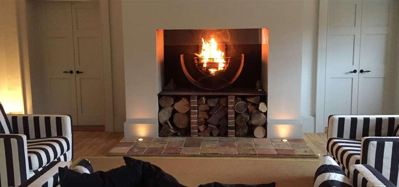 TTDA - Henstead Pavilion - Fireplace