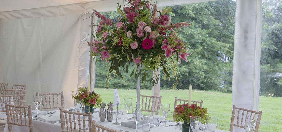 Weddings - Sotterley Estate - Tables