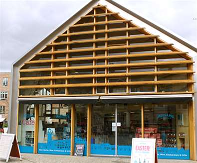 TTDA - Adnams Store - Front of Store  - (c) Josh Simpson Photography
