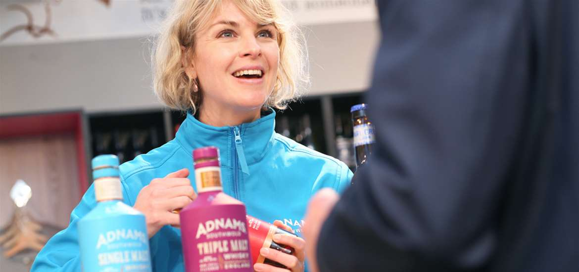 Weddings - Adnams Store, Southwold - Gin