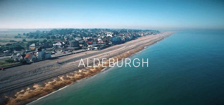 Aldeburgh Aerial View