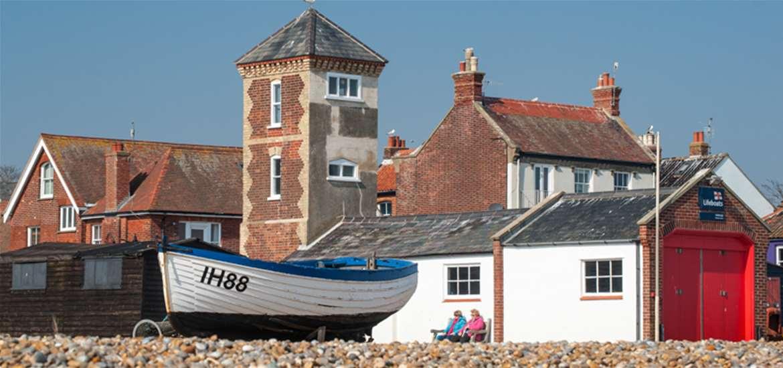 Aldeburgh Beach Suffolk Coast
