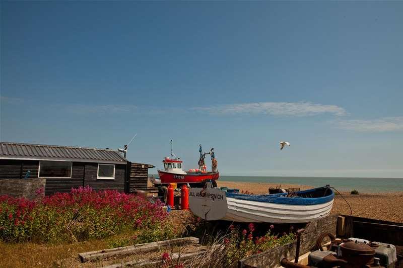 TTDA - Aldeburgh Beach - boats
