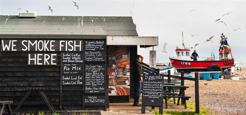 Aldeburgh Beach Front - The Suffolk Coast