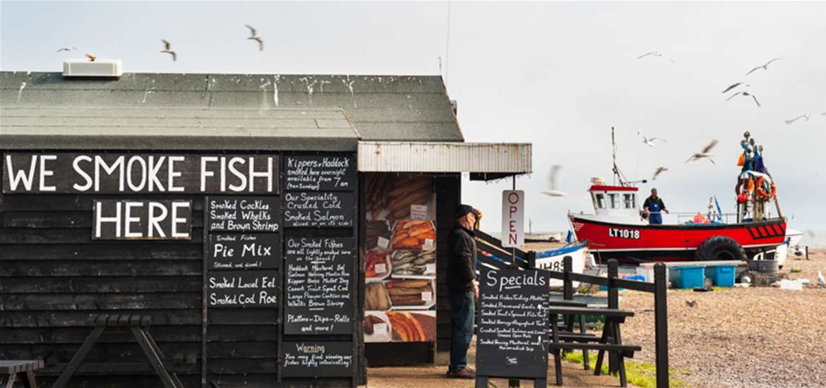 Aldeburgh Fish Huts - (c) Gill Moon Photography