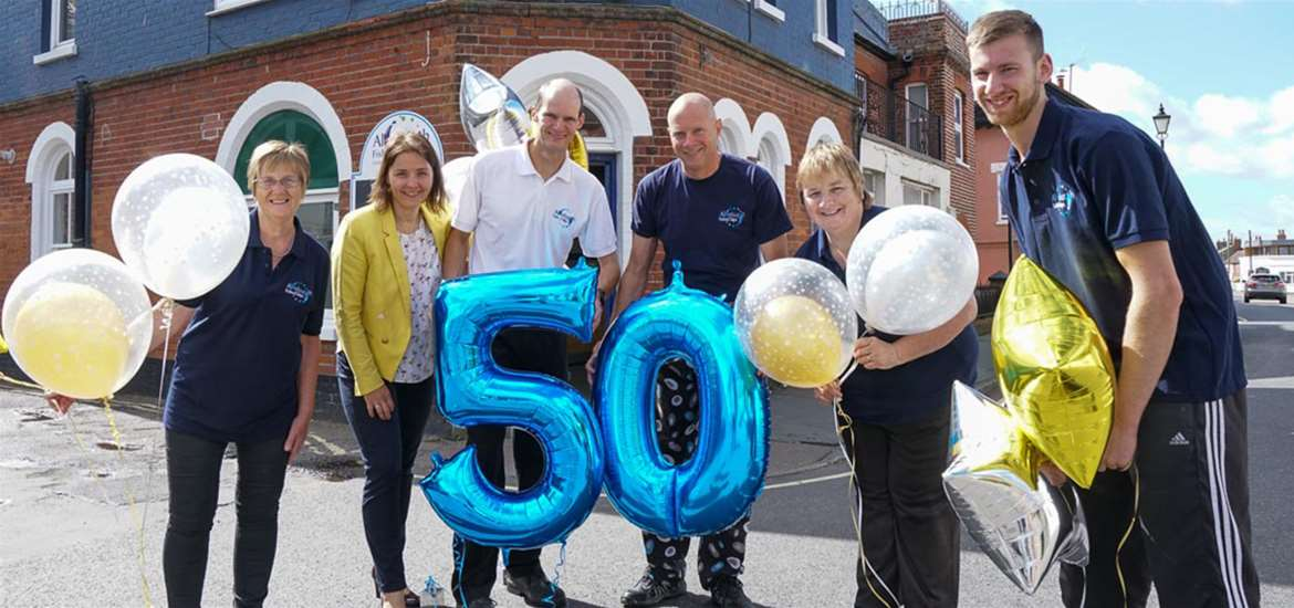 Aldeburgh Fish & Chip Shop - 50 year celebrations