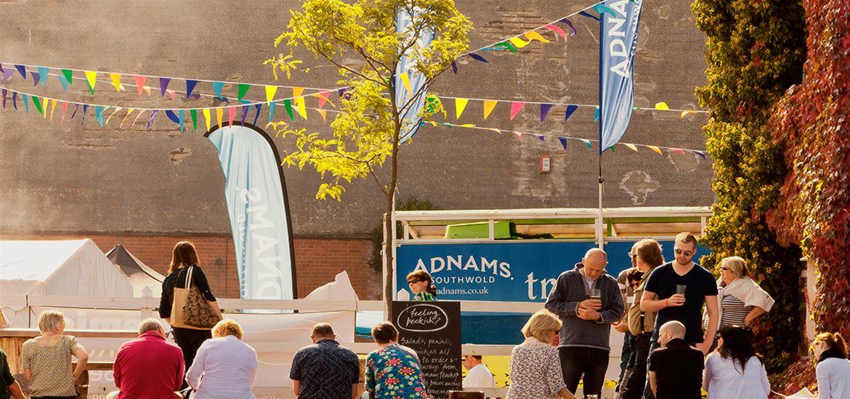 Aldeburgh Food & Drink Festival- Bokeh Photographic Crowd