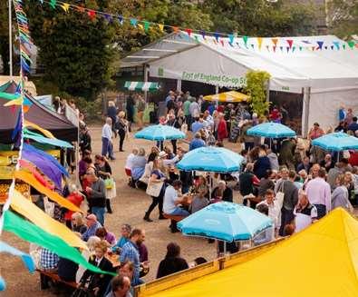 Aldeburgh Food & Drink Festival - Courtyard