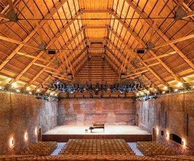 TTDA - Snape Maltings - Concert hall