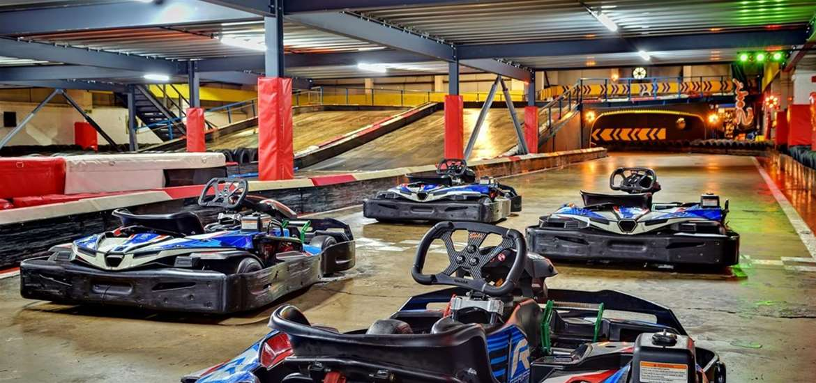 WED - Anglia Indoor Karting - On the grid!