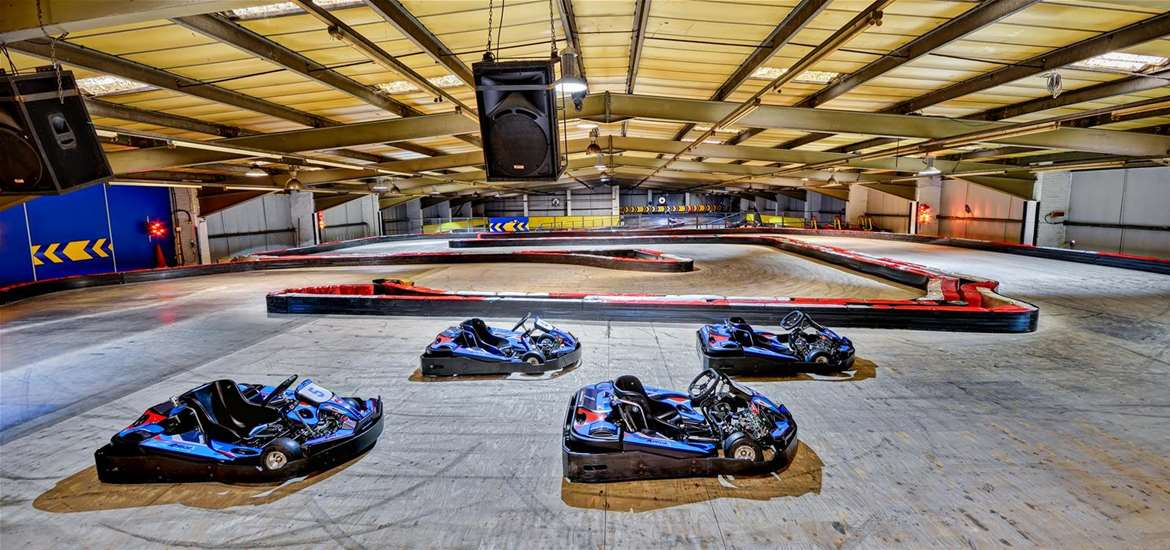 TTDA - Anglia Indoor Karting - Upstairs Circuit