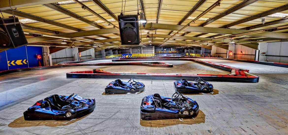 WED - Anglia Indoor Karting - Karts on circuit