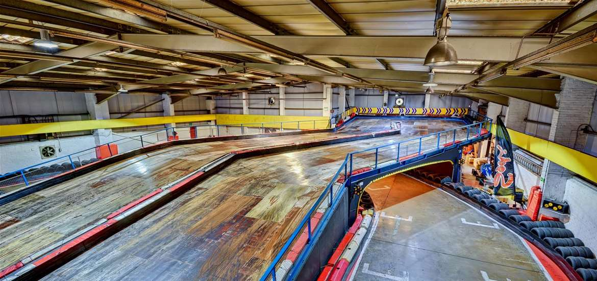 TTDA - Anglia Indoor Karting - Downstairs Circuit