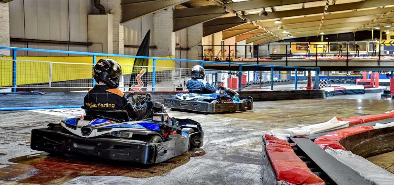 TTDA - Anglia Indoor Karting - downstairs