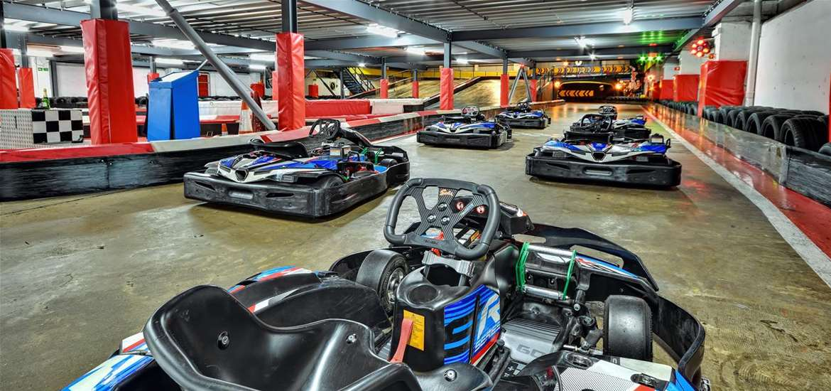 TTDA - Anglia Indoor Karting - downstairs track