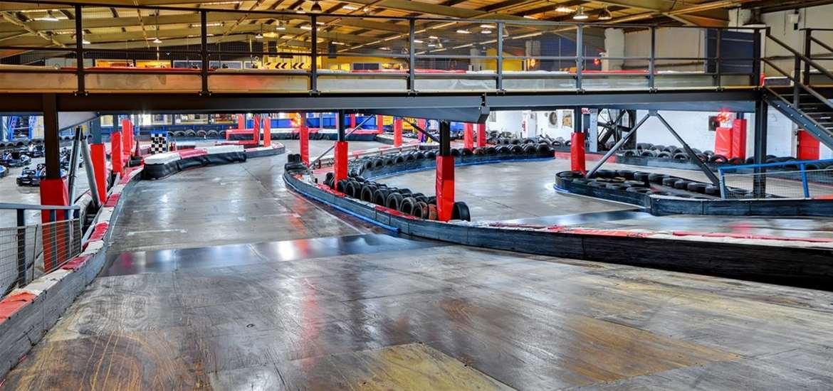 WED - Anglia Indoor Karting - Downstairs Circuit