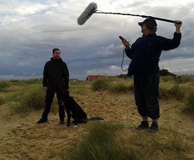 Articles - With Love from Suffolk - Filming on Beach