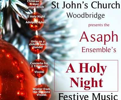 Asaph Christmas Concert at St Johns Church Woodbridge