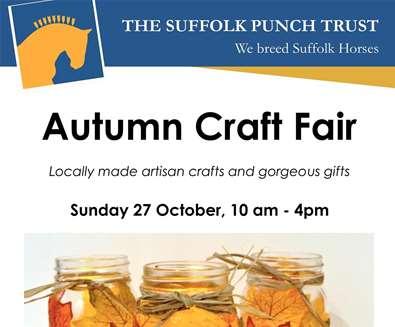 Autumn Craft Fair at The Suffolk Punch Trust