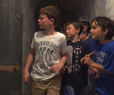TTDA - Landguard Fort - kids at fort