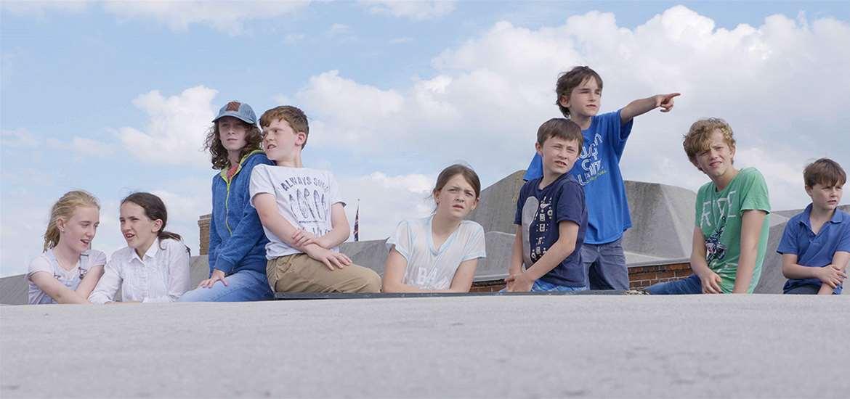 TTDA - Landguard Fort - Children on Fort