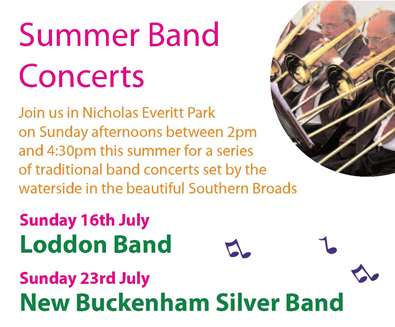 Summer Band Concerts in Nicholas Everitt Park