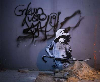 Towns & Villages - Lowestoft - Banksy (c) Adam Barnes Photography