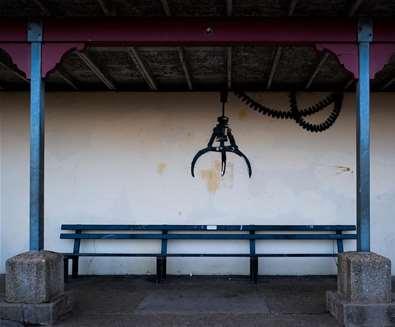 Banksy - arcade grabber - (c) Adam Barnes