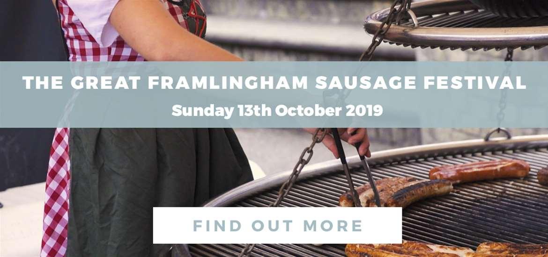 Banner Advertisement Sausage Festival 13 October FD